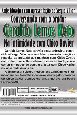 Café filosófico com Geraldo Lemos Neto - Na intimidade com Chico Xavier